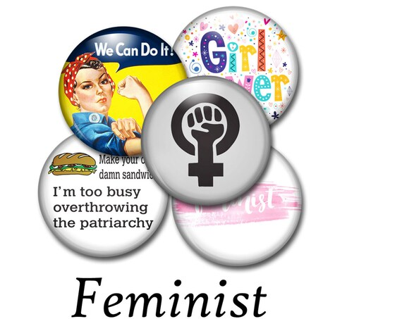 Feminist Pride Buttons