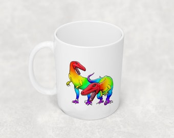 Raptors mug with or without coordinating coaster