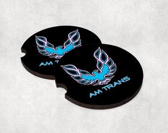 Car coasters (set of 2) -  Am Trans