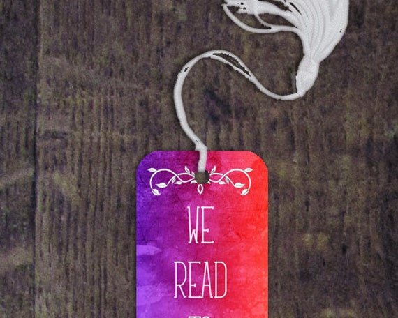 We read to know we are  not alone bookmark