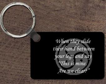 Their hand key chain