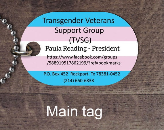 TVSG dog tag SET