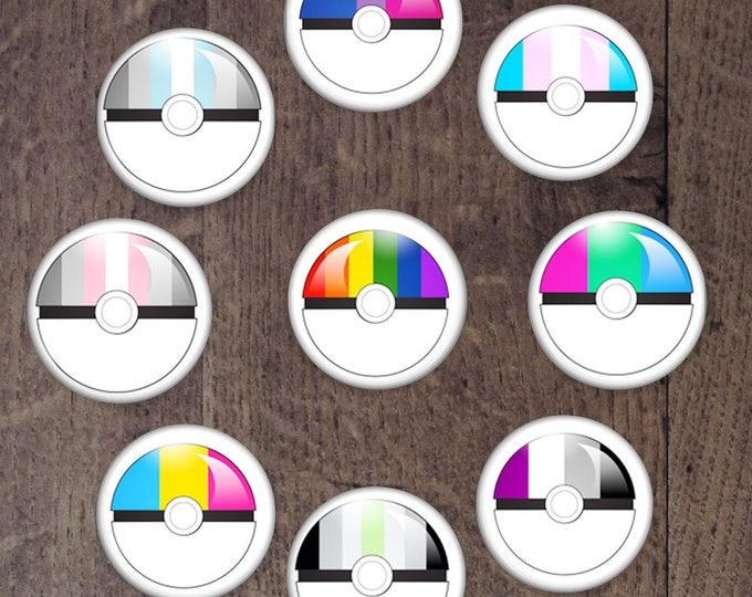 Pokeball button