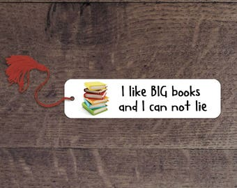 Big books bookmark
