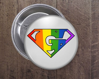 Super Gay button