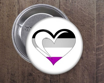 Asexual heart button