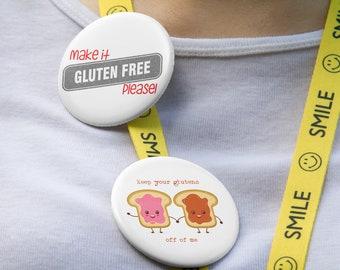 Gluten Buttons
