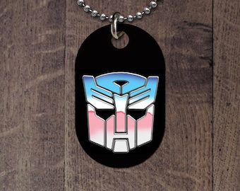 Transgender/Transformer Dog Tag