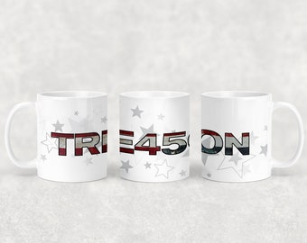 Treason mug with or without coordinating coaster