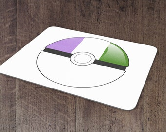 Genderqueer mouse pad
