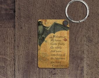 Dracula key chain