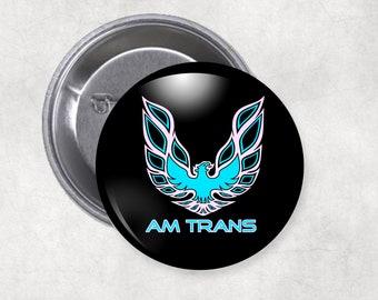 Transgender Am Trans Buttons
