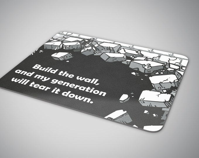 Build the wall mouse pad