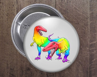 LGBT Raptors button