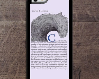 Moby Dick, Call me Ishmael iPhone case