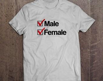Genderqueer T-shirt