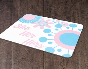 Transgender Pronouns mouse pad
