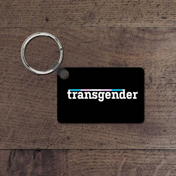 Transgender key chain