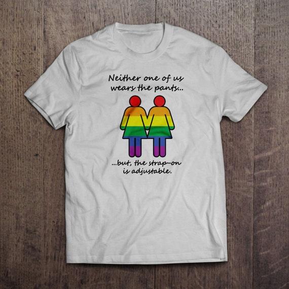 No pants here - Lesbian T-shirt