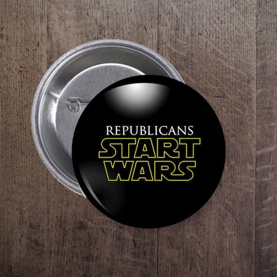 Republicans Start Wars button
