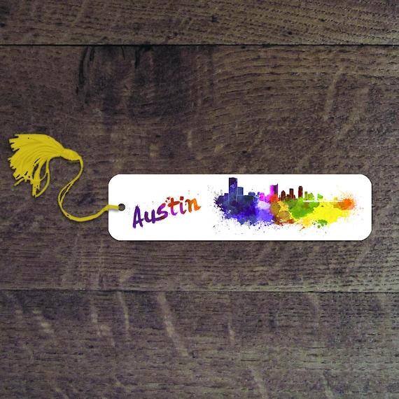 Austin bookmark