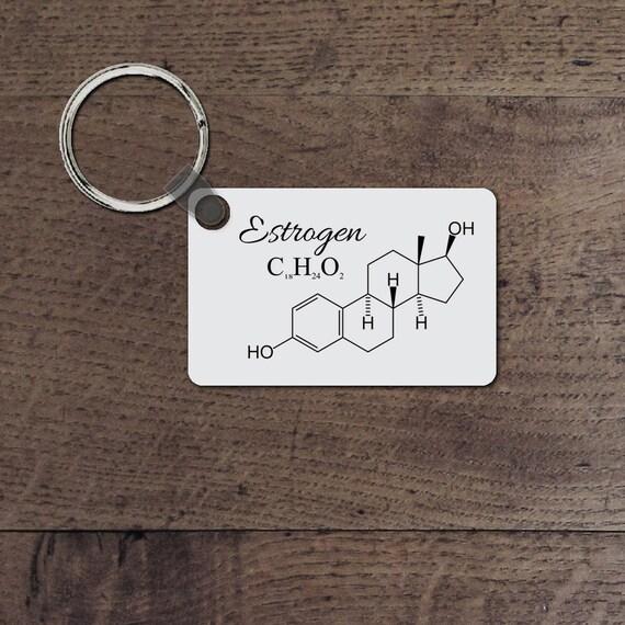 Estrogen key chain