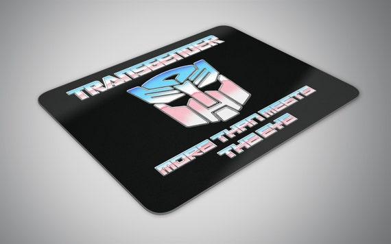 Transgender Transformer mouse pad