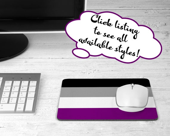 Asexual Flag mouse pad