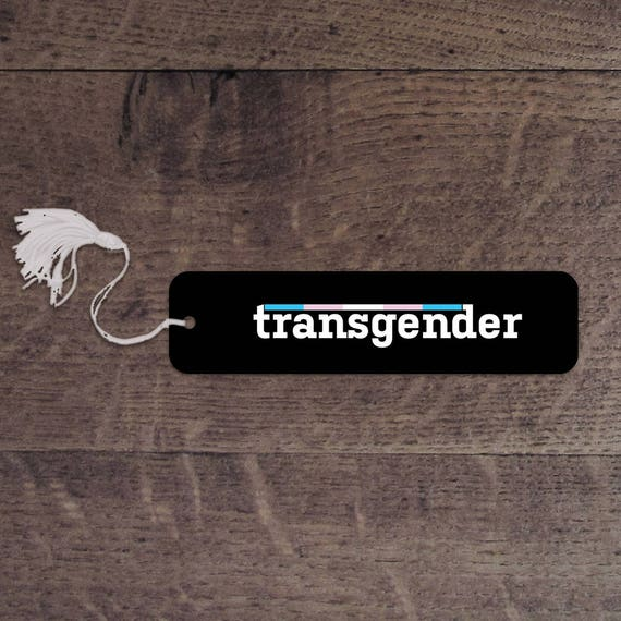 Transgender bookmark
