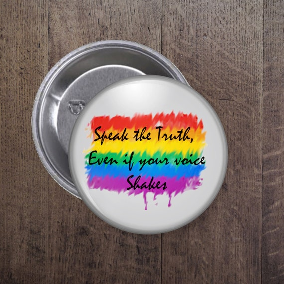 Speak the truth button