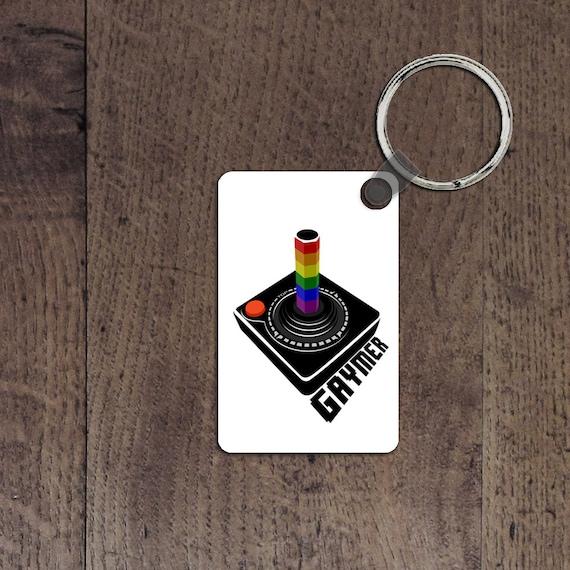 Gaymer key chain
