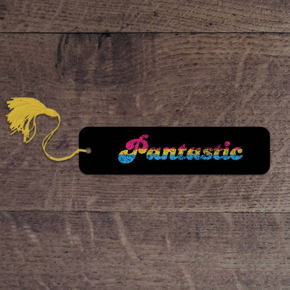Pantastic flag bookmark