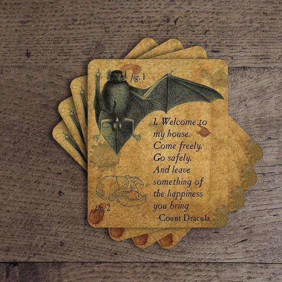 Count Dracula - Coaster Set