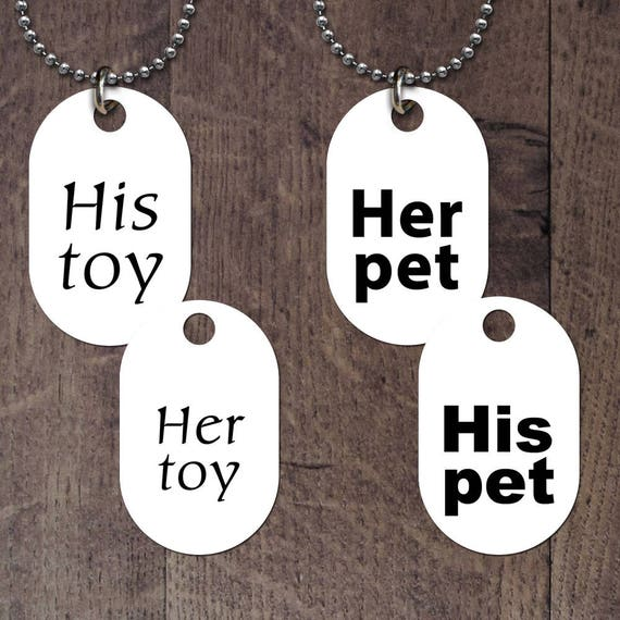 Her/His Pet - Toy Collection Dog Tag