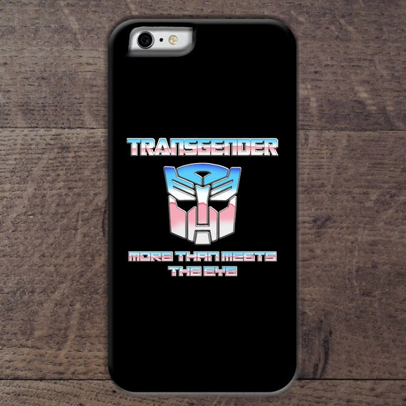 Transgender transformer phone case