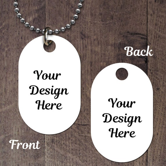 Double Sided Custom Dog Tag