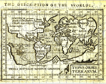 Puzzles of Vintage Historical Maps