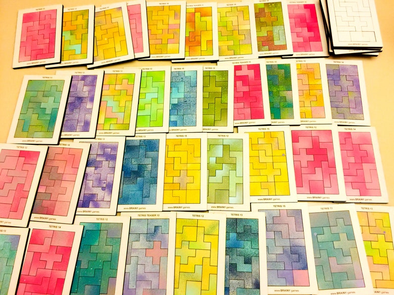Tetris Teasers  Lasercut Brainteasers and Stocking Stuffers image 0