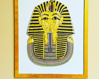 King Tut Magnetic Puzzle Wall Hanging