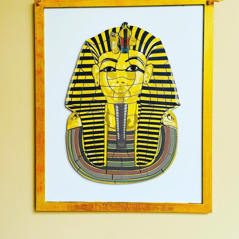 King Tut Magnetic Puzzle Wall Hanging image 0