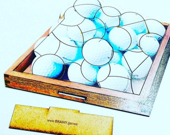 Golf Ball Puzzles for Golfers