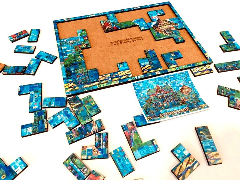 Puzzles in Trays image 0
