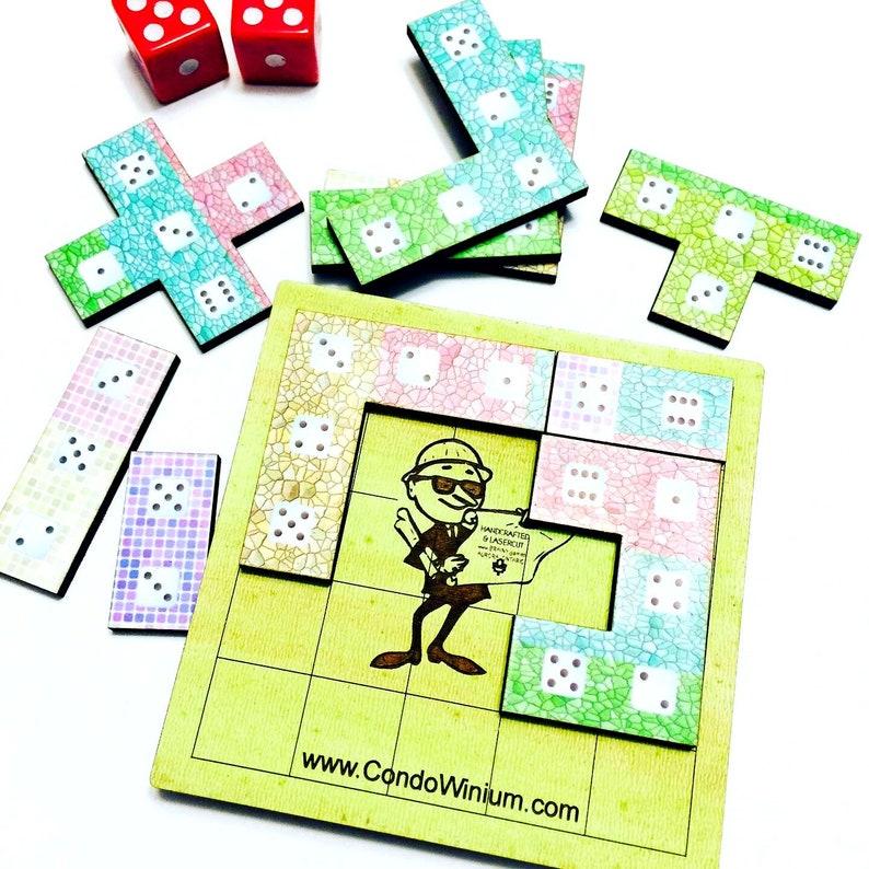 Condowinium  Tetris-Like Stacking Game with Polyominoes image 0