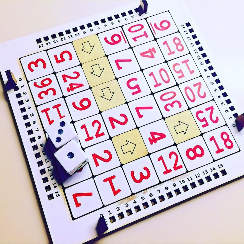 Math Tac Toe  Strategic Dice Math Game image 0