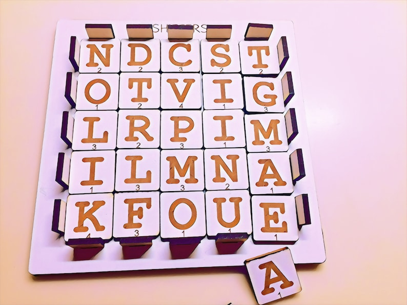 Word Shifters  Spelling Game  Literacy Game  Word Search image 0