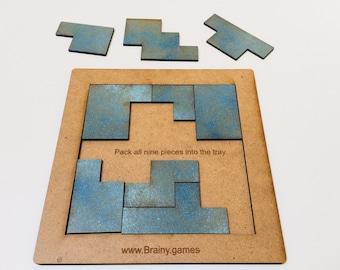 Shape Brainteaser Puzzles