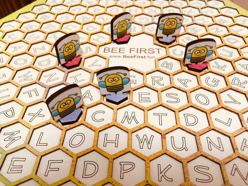 Bee First  Word Game  Math Game image 0