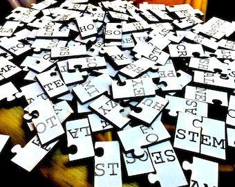 Word Lock Literacy Game and Puzzle
