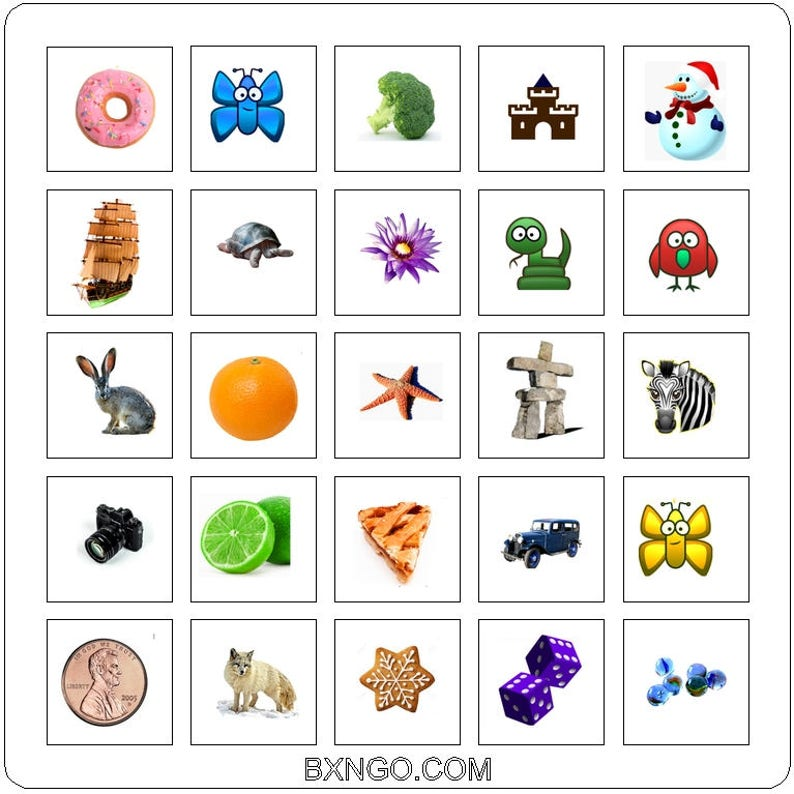BXNGO  Contextual Bingo  A variety of educational games. image 0