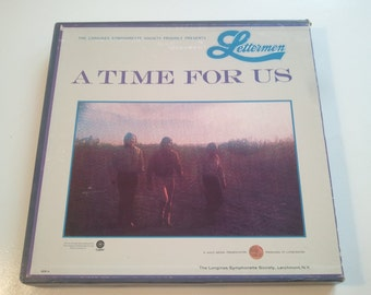 70s Music Records Lettermen A Time For Us Vinyl Boxed Set LP Album Old Records Photo Prop RhymeswithDaughter